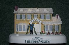 "christmas vacation ornament! It lights up and the ""hallelujah"" chorus plays"