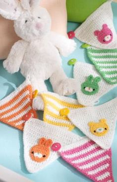 Baby's Place Banner Crochet Pattern | Red Heart