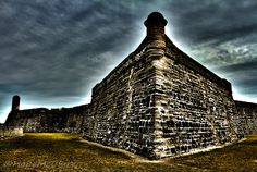 Castillo de San Marcos fort ST. Augustine Fl. by Art By Hope Photography, via Flickr