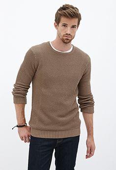 Popcorn Knit Sweater | 21 MEN - 2000103633
