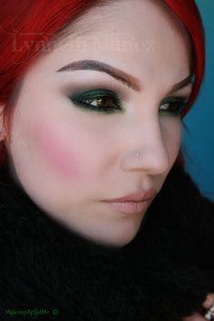 "makeup green -- Make-up Artist Me!: ""Emerald Smoke"" Makeup tutorial"