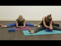 60 minutes Yin Yoga for the Spine...yin is sooo nice now and then. Release! :)
