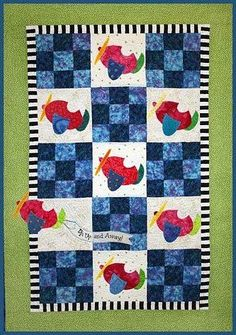 Sky Dreams Baby Quilt Pattern by Country Quilter Airplanes | Baby ...