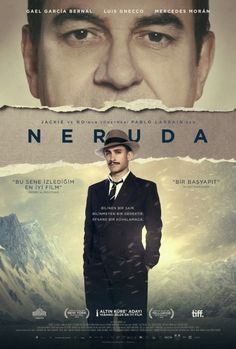 Neruda 2017 HD Türkçe Dublaj İzle #hdeniyifilmler.com #neruda #sinema #film #movies