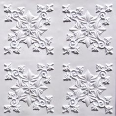 """Discounted, Cheap Decorative Plastic Ceiling Tile #305 Pvc White Matt 24"""" X 24"""" Can Be Glue on Clean Smooth Flat Surface, Also Can Glued Over Secure Popcorn Ceiling,glue On,nail On,tape On,staple On! by Ceiling Tiles by Us,glue on,nail on,staple on,tape. $7.35. Faux Decorative Plastic Ceiling tile Easy to install with overlaping adges, faux paintable,Put in frame as a picture!Wall Decor!Cheap Suspended ceiling tiles!Discount ceiling tiles.Waterproof ceiling tiles..."""