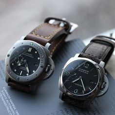 PAMS Panerai Luminor, Panerai Watches, Rolex Watches For Men, Luxury Watches For Men, Stylish Watches, Cool Watches, Omega Ladies, Panerai Straps, Hand Watch