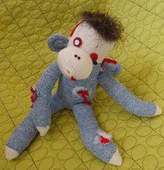 Zombie sock monkey Ha!   @Laura Jayson Jayson Laubach-Richardson @Soni Hdez Hdez McCormick