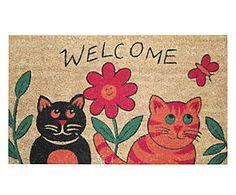 Zerbino in cocco e gomma Gatti - 43x73x2 cm Kids Rugs, Fantasy, Home Decor, Decoration Home, Kid Friendly Rugs, Room Decor, Fantasy Books, Fantasia, Home Interior Design