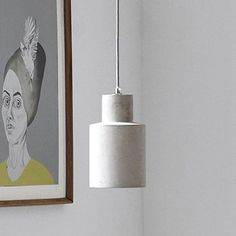 Are you interested in our pendant light ? With our concrete pendant light you need look no further.