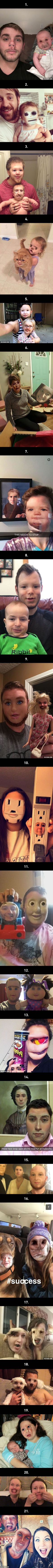 The Funniest And Scariest FaceSwaps