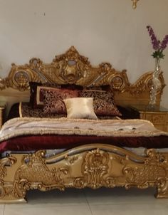 Classic Gold leaf bedroom