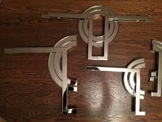 Oferta   Ekskluzywne meble, luksusowe meble   Cygal Art Deco Elementy metalowe- klamki,ozdoby