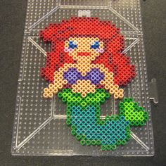 Ariel perler beads by Flood7585 on DeviantArt