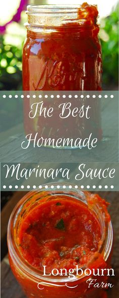 Add 2 tbsp sugar 1 tbsp garlic This homemade marinara sauce is easy to make and tastes better than anything you could buy at the store! Quickly & easily turn it into a meat sauce for a heartier meal. Homemade Marinara, Homemade Sauce, Pasta Marinara, Pasta Sauces, Gnocchi Homemade, Sauce Recipes, Pasta Recipes, Recipe For Marinara Sauce, Best Canned Spaghetti Sauce Recipe