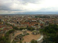 Arco della Pace #Milano #piccolamilano Paris Skyline, Live, Pictures, Travel, Photos, Photo Illustration, Viajes, Traveling, Resim