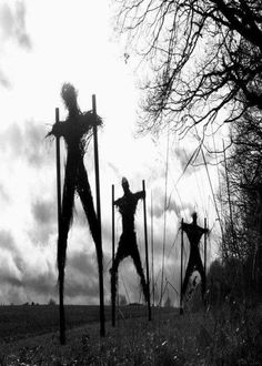 Stilts and scarecrows