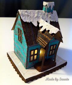 Made by Sannie: Winter Wonderland with a little Village Dwelling