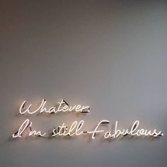 Quotes and Motivation QUOTATION – Image : As the quote says – Description Whatever Neon Quotes, Motivational Quotes, Inspirational Quotes, Positive Quotes, Positive Thoughts, Neon Lighting, Lighting Ideas, Lighting Design, Wall Lighting