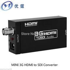 YOUTING HDS009 HDMI TO SDI Converter 1080P60HZ Hd SDI turn signal monitor Radio and television SDI 3G HDMI TO BNC