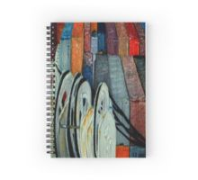 'Winches' Spiral Notebook available at http://www.redbubble.com/people/chrisjoy/works/4895859-winches