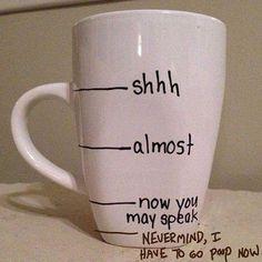 Made a minor change to this mug.