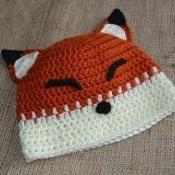 Infant & Toddler Fox Hat Crochet Pattern - via @Craftsy