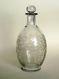 Carafe en cristal gravé de BACCARAT service GOLFE JUAN / RIVIERA époque ART DECO | Céramiques, verres, Verre, cristal, Grands noms français | eBay!