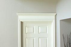 Crown Molding above Doors