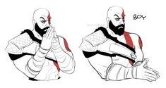 Kratos art, Kratos memes, God of war pics, God of War art Skyrim, Overwatch, Best Funny Photos, Funny Pictures, Kratos God Of War, Video Game Memes, The Legend Of Zelda, Gaming Memes, Pc Gamer