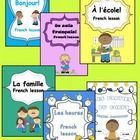 This pack of French elementary lessons includes six lessons that make easier the firsts steps to learn a new language. It includes six lessons: - B...
