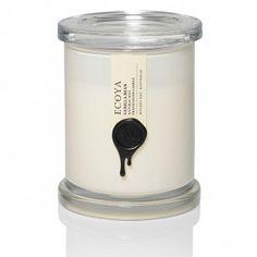 Ecoya Vanilla Bean Metro Jar Candle