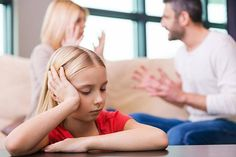 Children suffer the most during divorce.