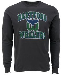 47 Brand Men s Long-Sleeve Hartford Whalers Flanker T-Shirt Hartford  Whalers 606336284