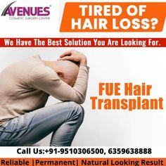 We have the best solution you are Looking For. #Avenues are here to solve your problem. To get consultation, drop your number here!!! Get consultation @ +91-9510306500, 6359638888. BOOK APPOINTMENT NOW!! #HairTransplantInAhmedabad #HairDoctorInAhmedabad #HairTransplantSurgeoninAhmedabad #HairTransplantCostinAhmedabad #AvenuesCosmetic #DrKinnarKapadia Hair Transplant Cost, Surgeon Doctor, Types Of Surgery, Cosmetic Clinic, Ad Of The World, Hair Clinic, Surgery Center, Hair Restoration, Hair Loss Treatment