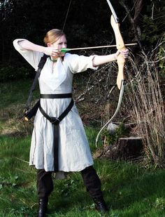 Medieval Fair attire - the medieval huntress
