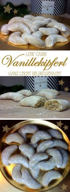 low carb feine Vanillekipferl …ganz leicht selbstgemacht Leckere Vanillekipferl gehören zur Adventszeit und zu Weihnachten einfach aufden Plätzchenteller. Diese hier haben nur wenig Kohlenhy…