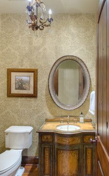 French Cau Style In Traditions Traditional Powder Room What A