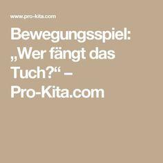 """Bewegungsspiel: """"Wer fängt das Tuch?"""" – Pro-Kita.com"""