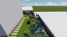 Güralis şelale-Arif Bilgili ortak yapımı apartman bahçesi ve şelale.