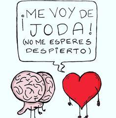Mira voooooos... Mejor quedate y vemos una peli. No hagas cagada! #love #sevienesanvalentin #corazon #cerebro #quedatequietitoquesetepasa #valentine #valentineday #buenasnoches #laplata by soyelroro