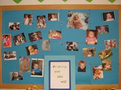 Wie waren wij als baby of klein kind? Kun je raden wie, wie is? Leuke activiteit met je groep.