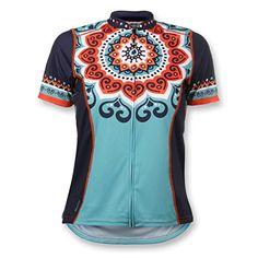 Amazon.com  Mandala Plus Women s Cycling Jersey 6985aa507