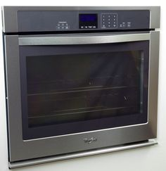 The Whirlpool WOS51EC0AS's oven window is absolutely massive. Electric Wall Oven, Kitchen Reviews, Wall Ovens, Kitchen Appliances, Window, Product List, House, Ideas, Diy Kitchen Appliances
