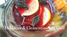Hibiscus & Clementine Cocktails Watch my recipe for this delightful cocktail to perk up your dinner parties and celebrations. Zobo with Champagne.
