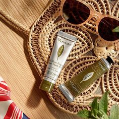 """Say """"au revoir"""" to dry hands - pop our #Verbena Clean Hands Gel and Cooling Hand cream Gel in your bag for on-the-go freshness, from commute to work to dinner 💚  #LOccitane #HandCare #OnTheGo #WorldHealthDay"""