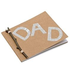 Fathers Day Gift: A Pad for Dad
