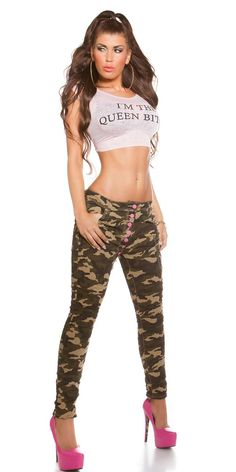 Jeans Army - Jeans - khaki - SEXYJEANS.ch