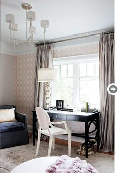 it is very common to set up an office space in ones bedroom...the key is to keep it simple and contained. Style it so it become part of your room decor