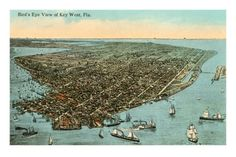 Aerial View of Key West, Florida (from allposters.com) ?? (just keeping this as an idea)