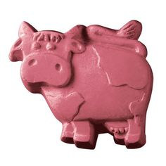 COW SOAP MOLD for a cowgirl party or farm party
